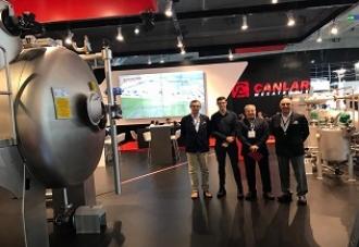 CANLAR Mekatronik marcou presença na ITMA